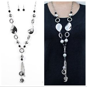 """Total Eclipse of the Heart"" Necklace & Earrings"